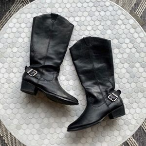 Harley Davidson's Tall Leather Motorcycle Boots